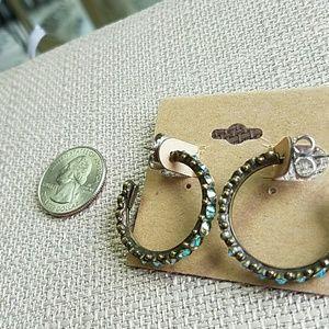 Sorrelli Jewelry - Sorrelli Green Apple  Hoops Earrings